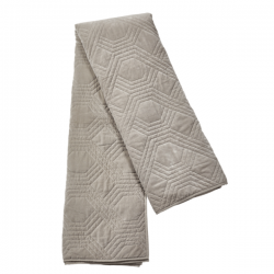 Bed Spread Geometric 260x260 Simply Taupe