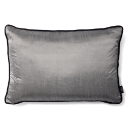 CUSHION COVER SILKY 40X60 TITANIUM