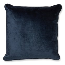 Kuddfodral 50×50 VELVET/LINEN TWILIGHT BLUE classic collection