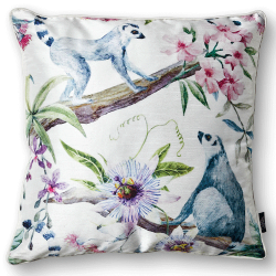 CUSHION COVER LEMUR 50X50 WHITE