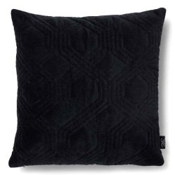Cushion 50x50 Geometric Black